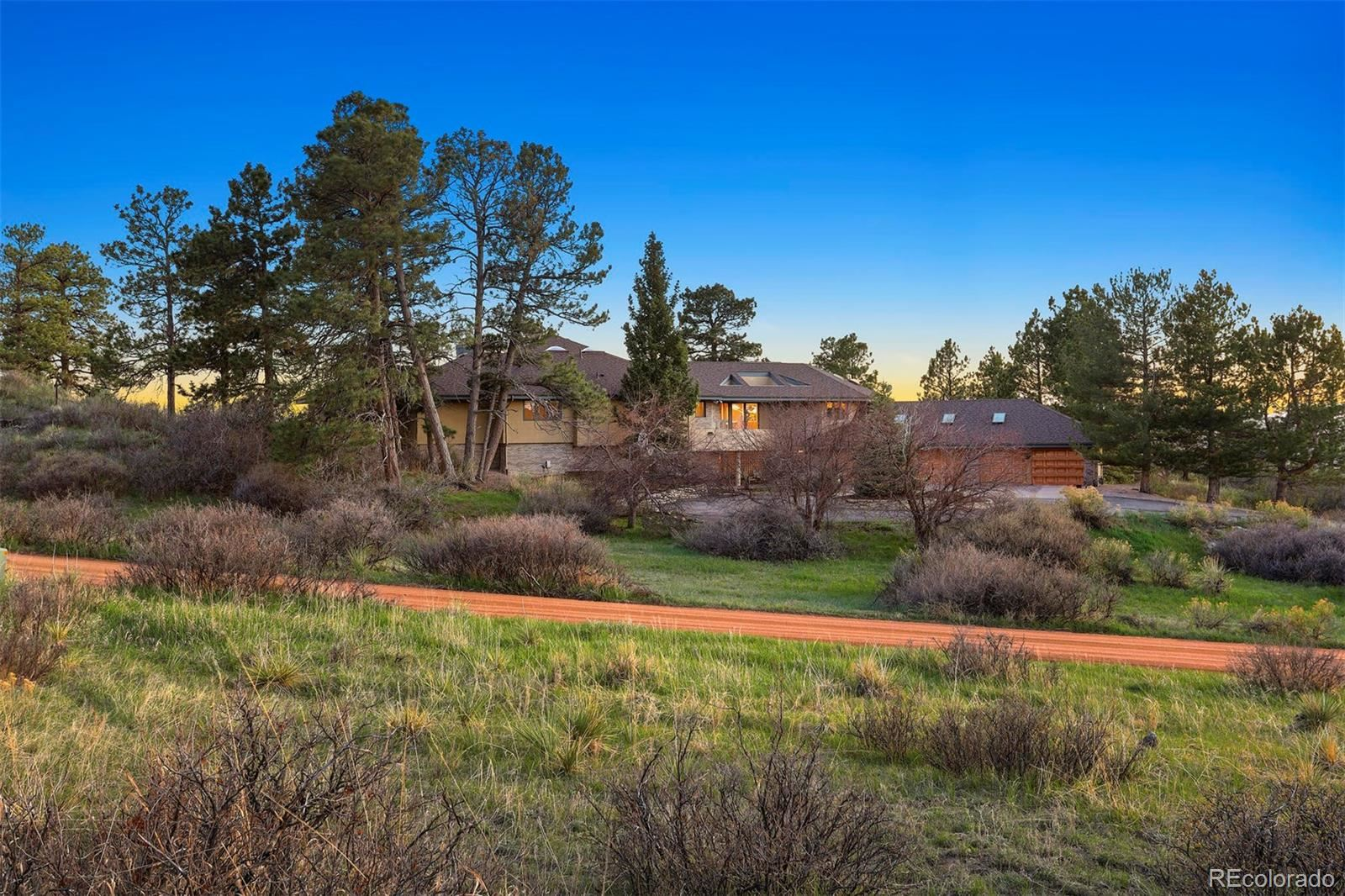 Property Image Of 7500 E Sunset Trail In Parker, Co