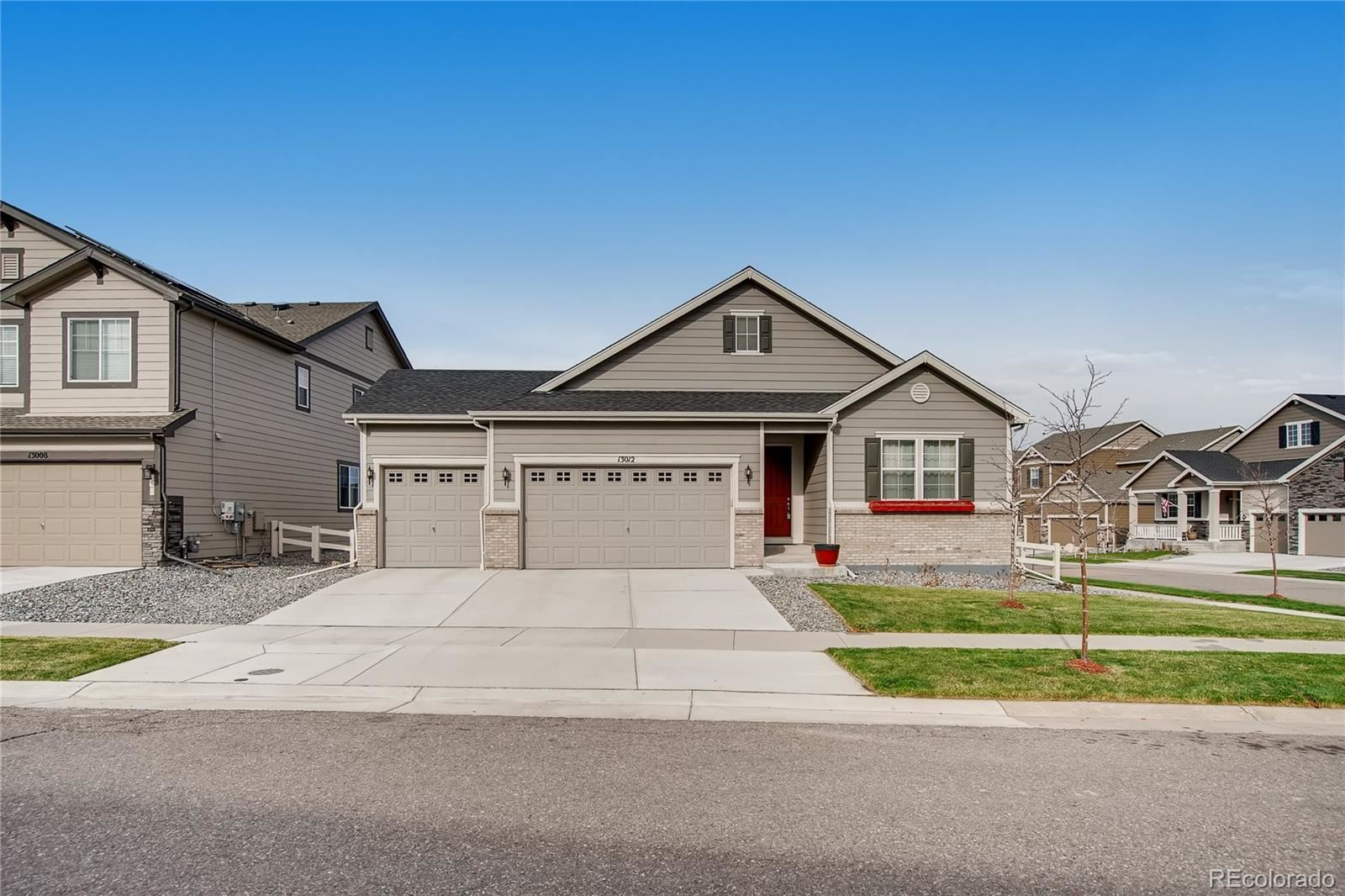Property Image Of 13012  Sibrica Street In Parker, Co
