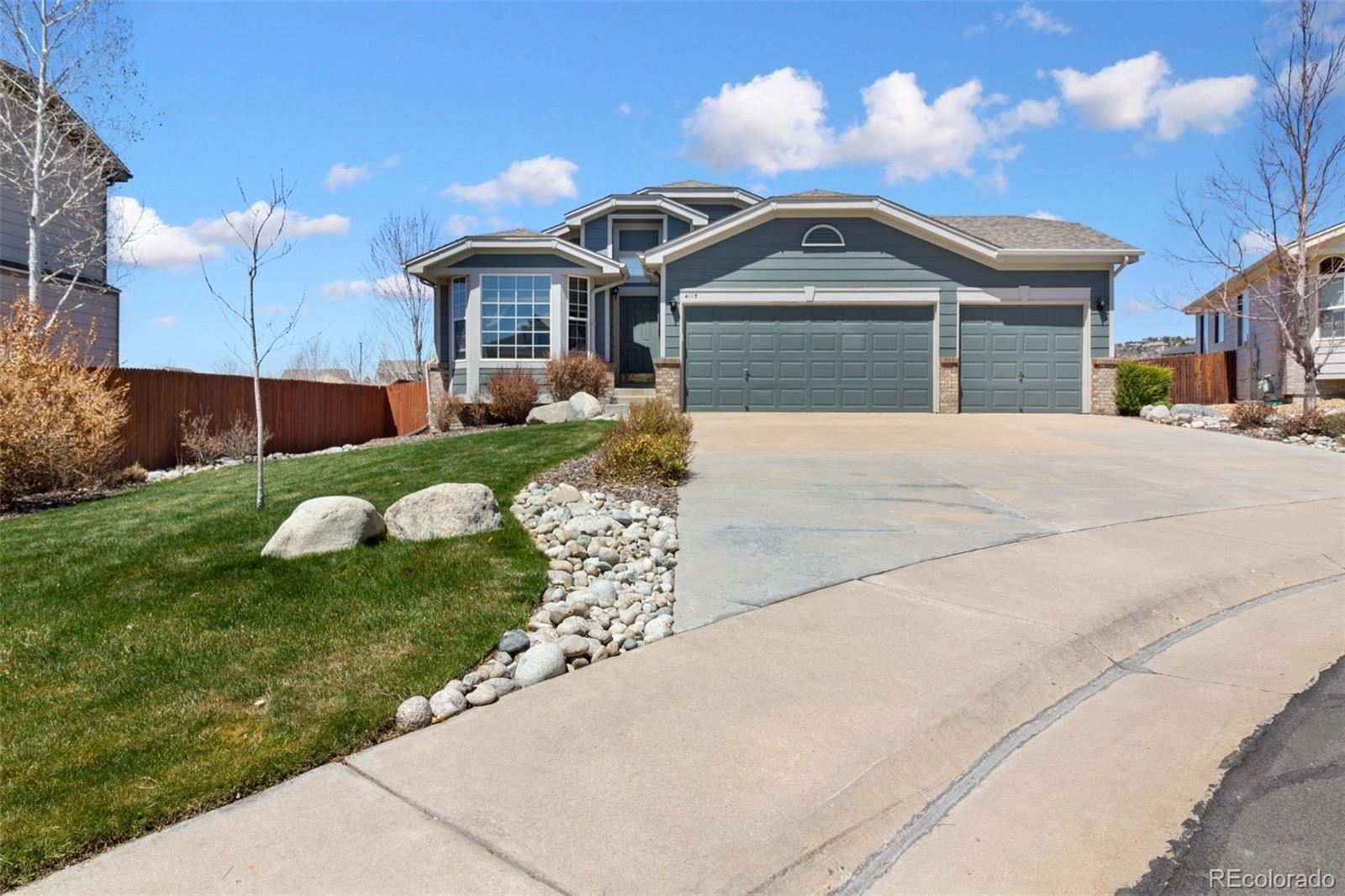 Property Image Of 4115  Storm Cloud Way In Castle Rock, Co