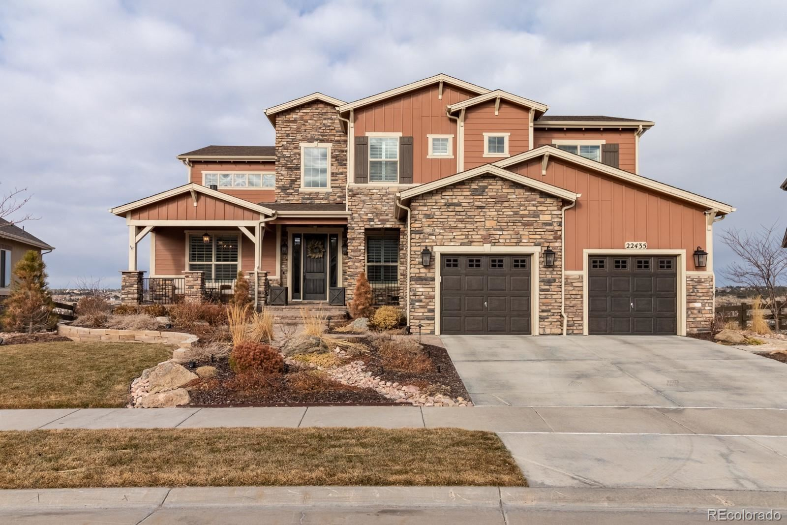 Property Image Of 22435  Boundstone Drive In Parker, Co