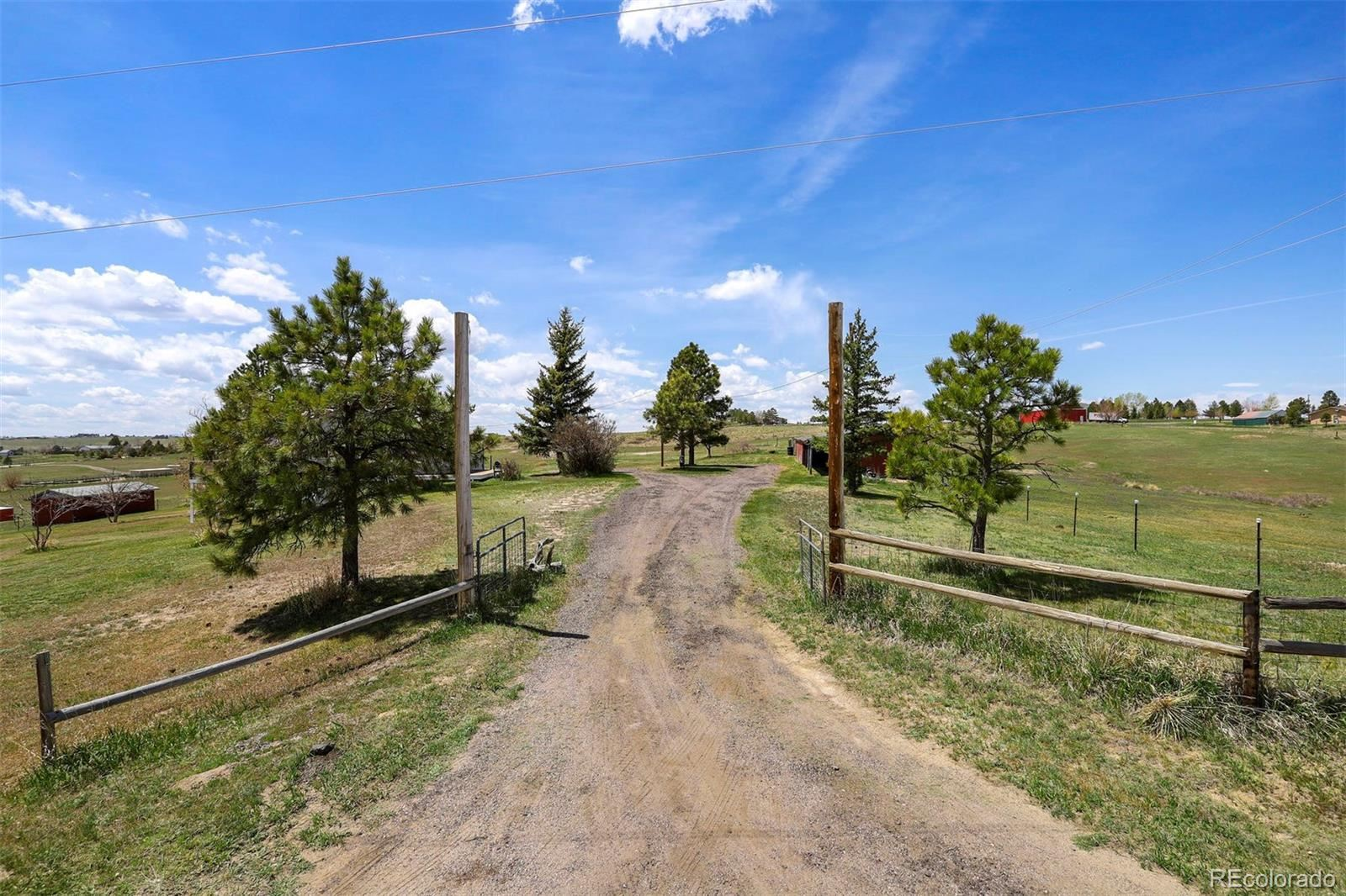 Property Image Of 45777  Coal Creek Road In Parker, Co