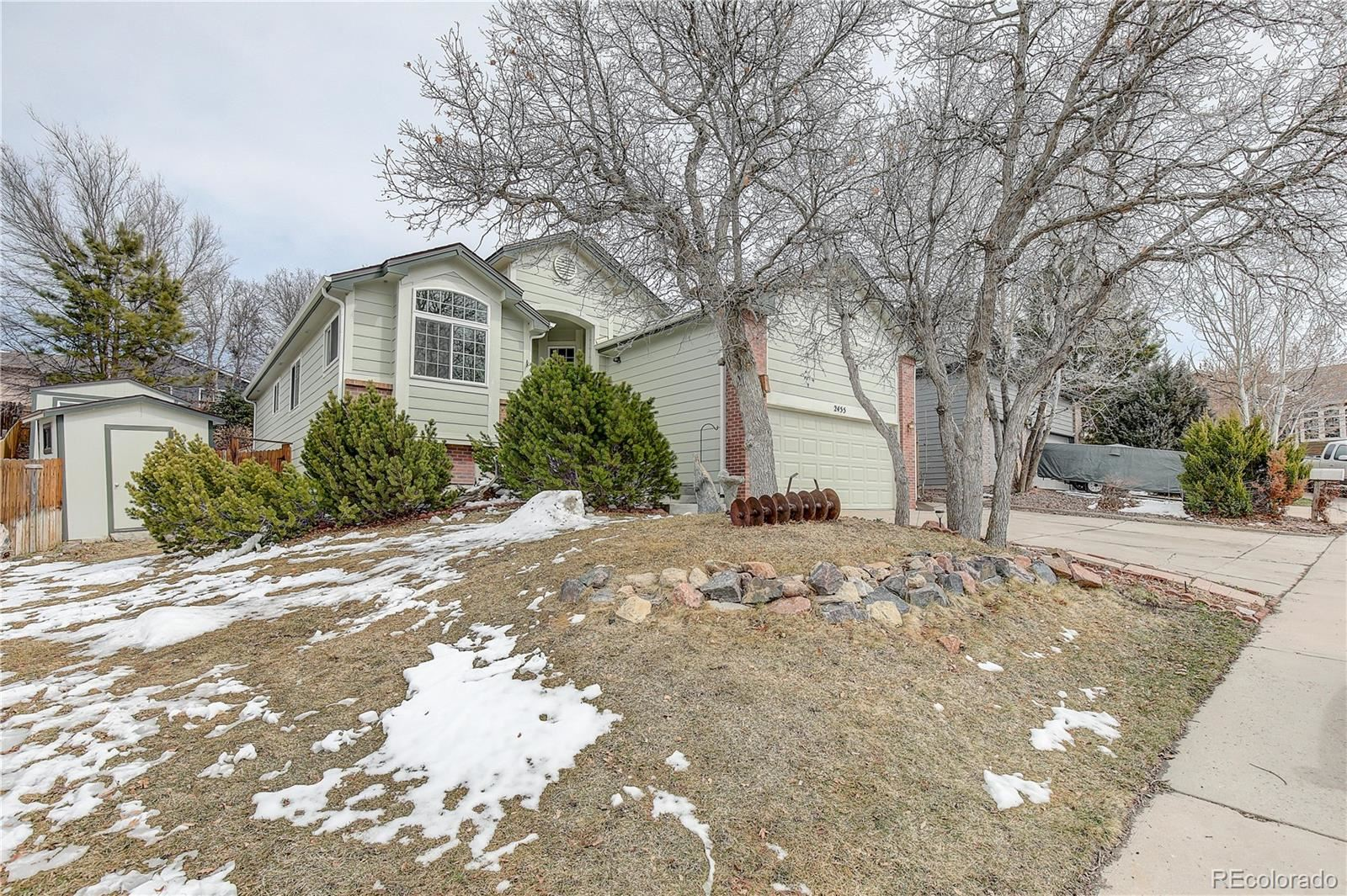 Property Image Of 2455  Hover Drive In Castle Rock, Co