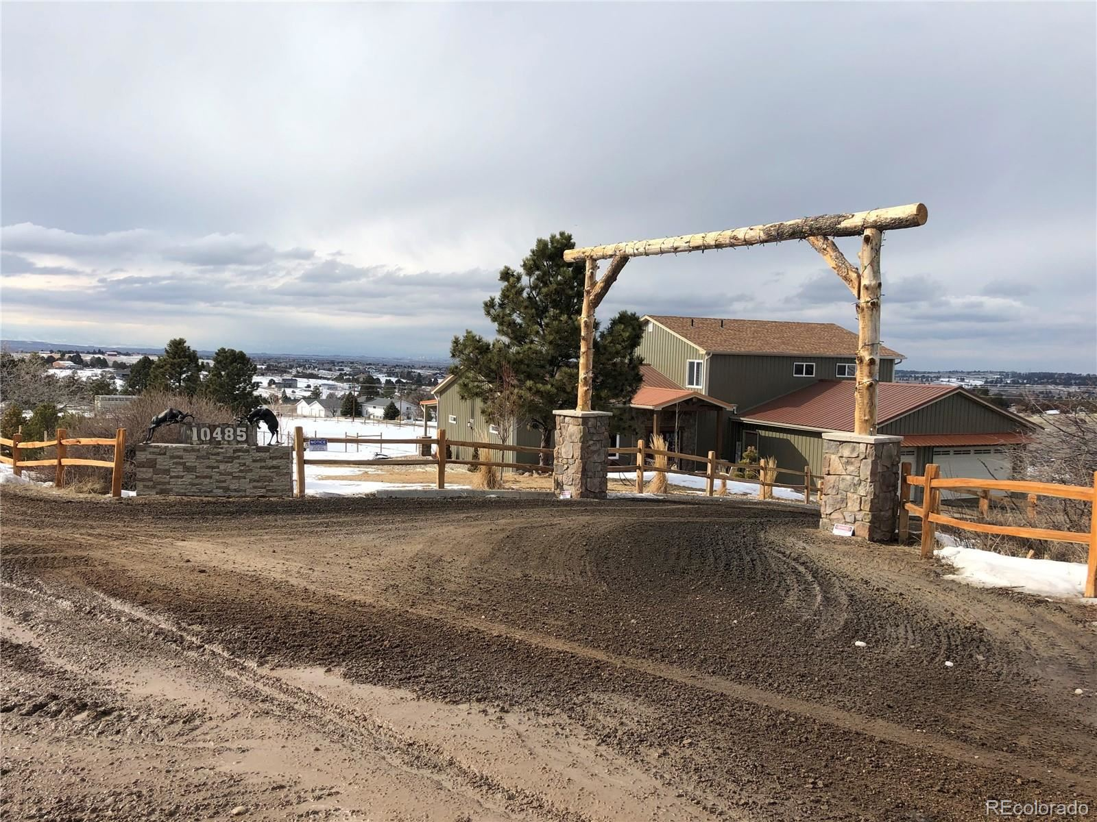 Property Image Of 10485  Bear Claw Avenue In Parker, Co