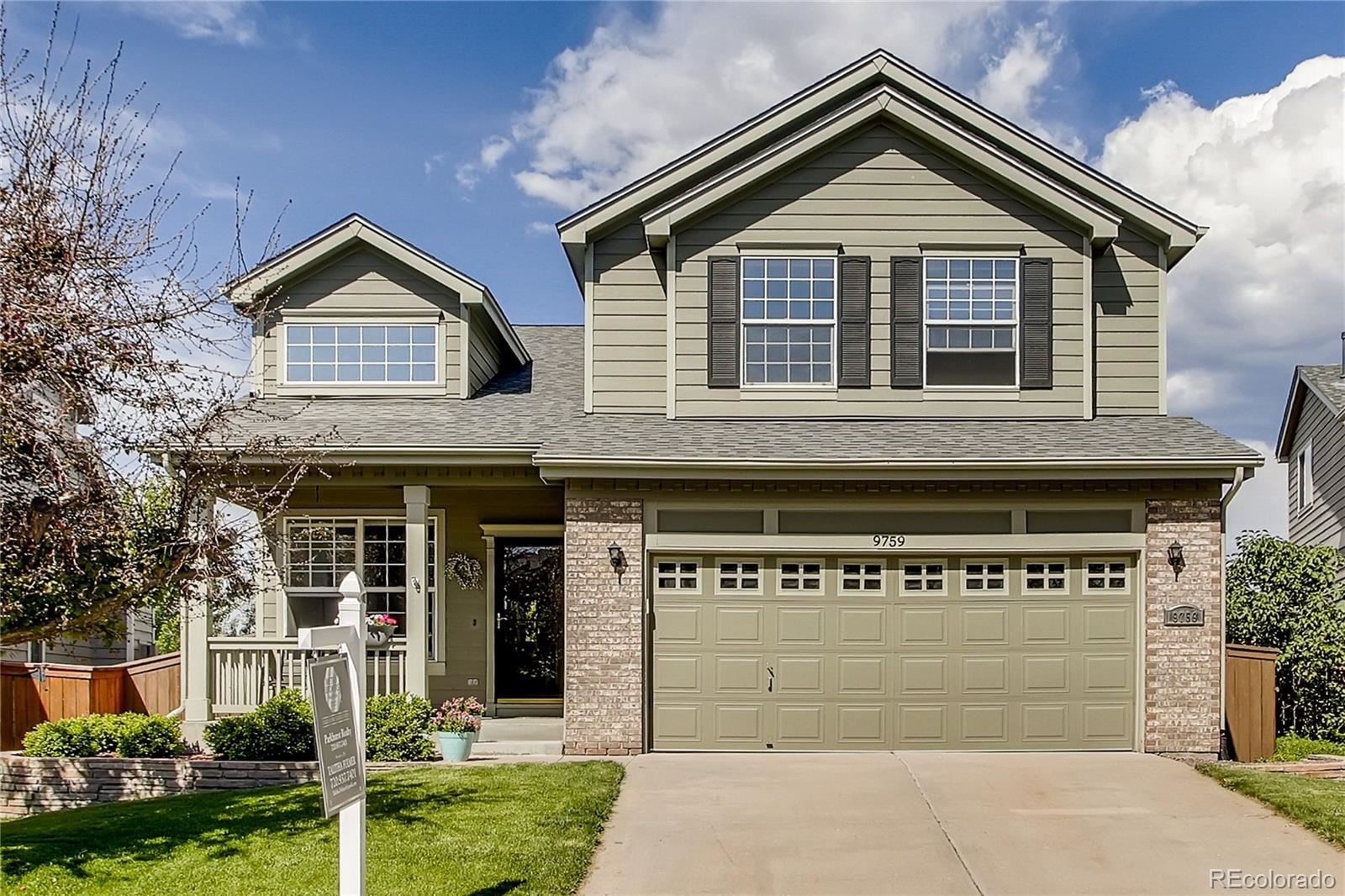Property Image Of 9759 Sun Meadow Street In Highlands Ranch, Co