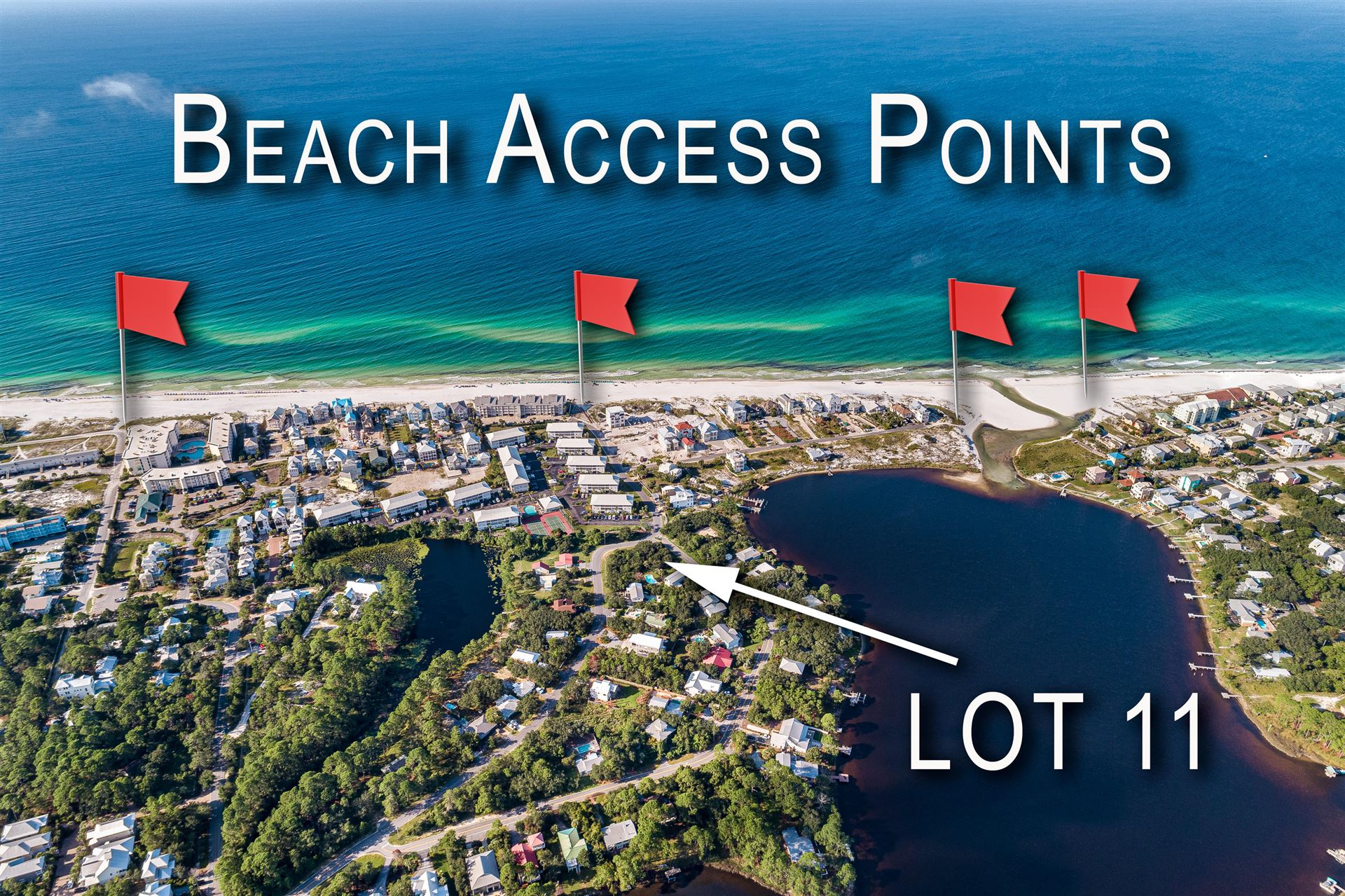 Property Image Of Lot 11 Lakeview Drive In Santa Rosa Beach, Fl