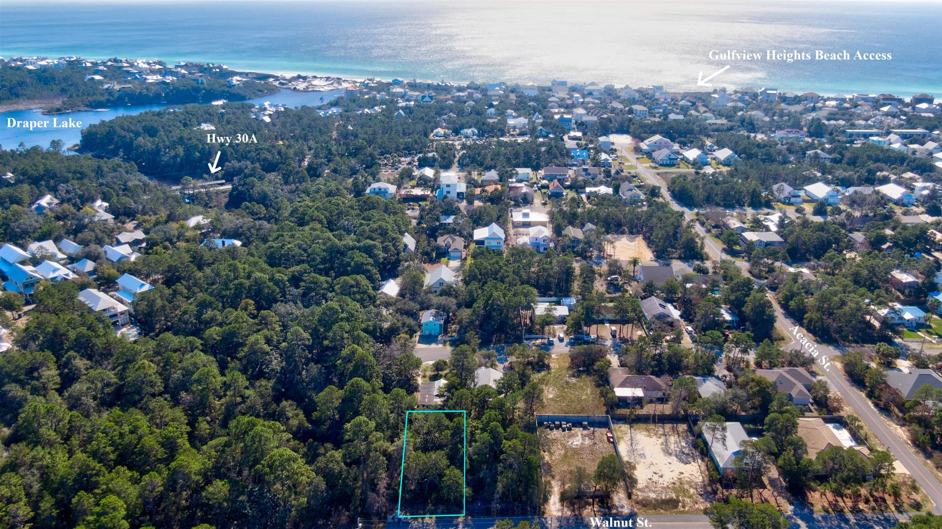 Property Image Of Lot 6 Walnut Street In Santa Rosa Beach, Fl