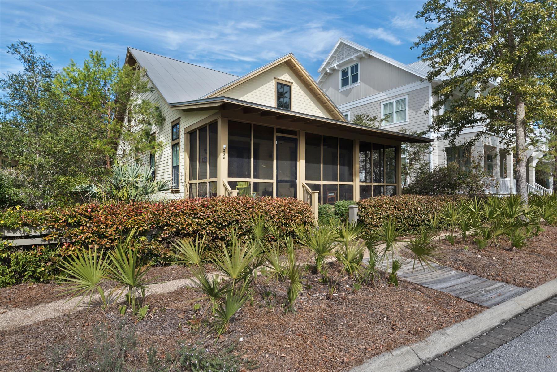 Property Image Of 230 Needlerush Drive In Santa Rosa Beach, Fl