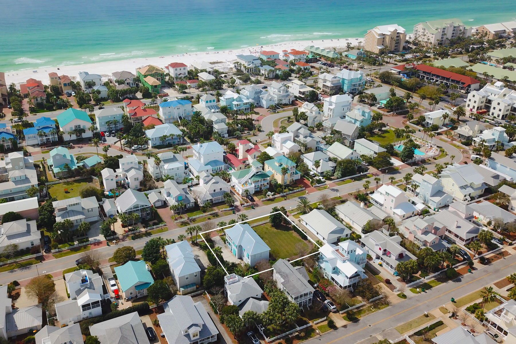 Property Image Of 4446/4448 Ocean View Drive In Destin, Fl