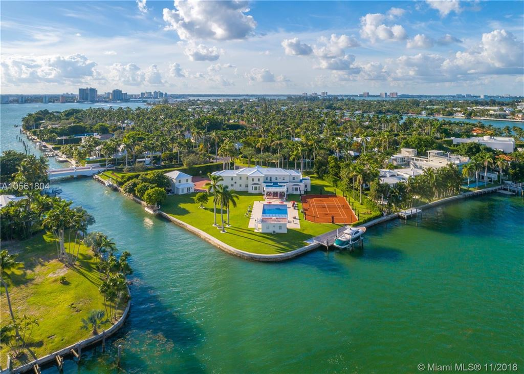 Miami Beach                                                                      , FL - $29,700,000
