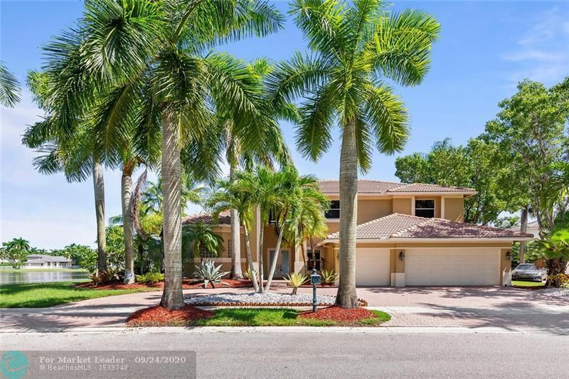 1895 Harbor Pointe Cir, Weston, FL, 33327,  Home For Sale