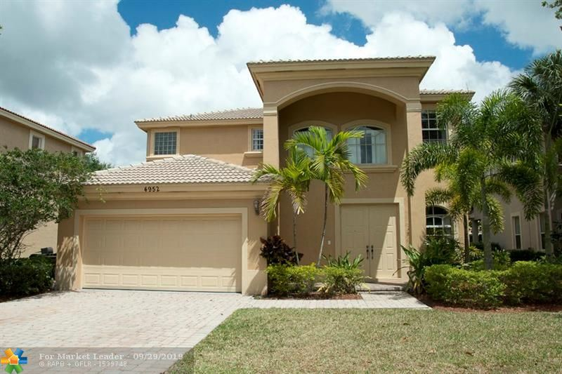 4952 CYPRESS LN, Coconut Creek, FL, 33073,  Home For Sale