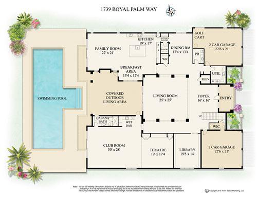 1739 Royal Palm, Boca Raton, FL, 33432, Royal Palm Yacht & CC Home For Sale