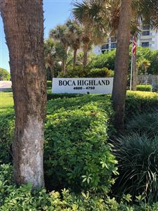 4740 Ocean, Highland Beach, FL, 33487, BOCA HIGHLAND Home For Sale