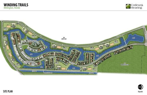 3102 Greenbriar  Lot 1, Wellington, FL, 33414, Winding Trails Home For Sale