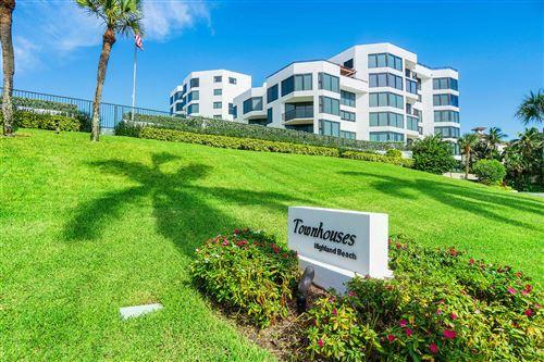 2575 Ocean, Highland Beach, FL, 33487, TOWNHOUSES OF HIGHLAND BEACH Home For Sale