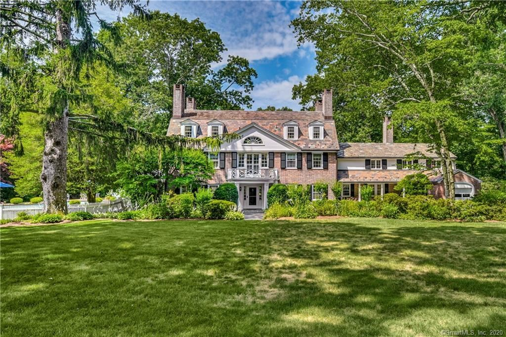 New Canaan                                                                      , CT - $8,000,000