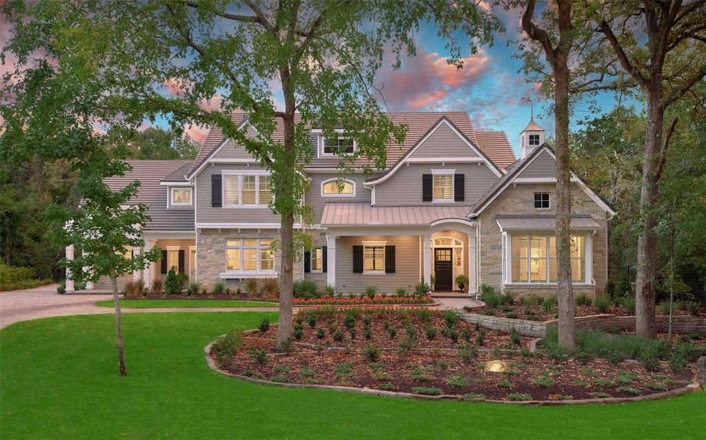 The Woodlands                                                                      , TX - $3,600,000