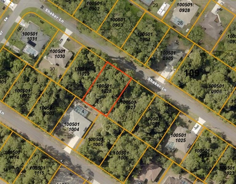 Property Image Of Shaker Lane In North Port, Fl