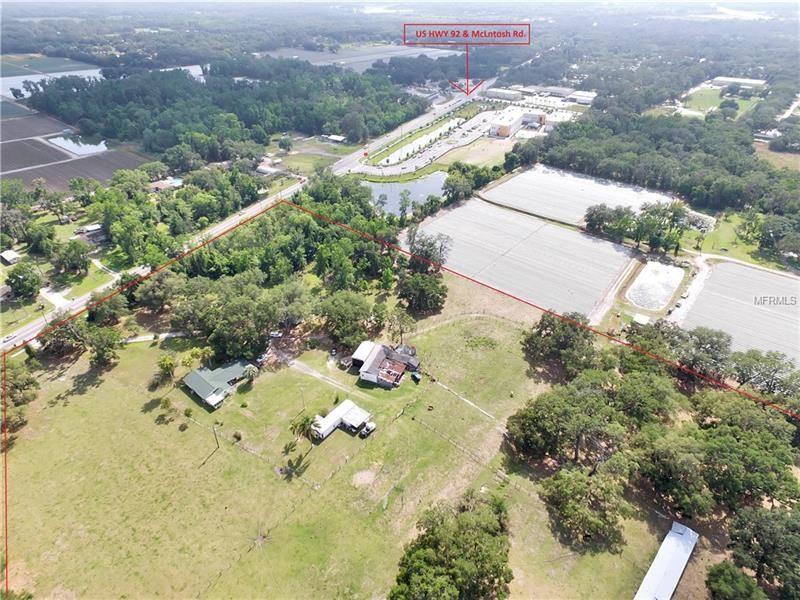 Property Image Of 13030 E Us Highway 92 In Dover, Fl