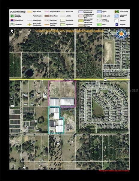 Property Image Of 3103 Avalon Road In Winter Garden, Fl