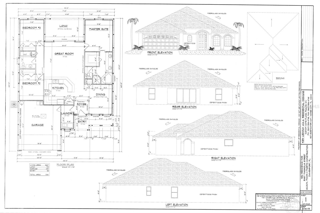 309 E MAGNOLIA STREET                                                                               Davenport                                                                      , FL - $285,000