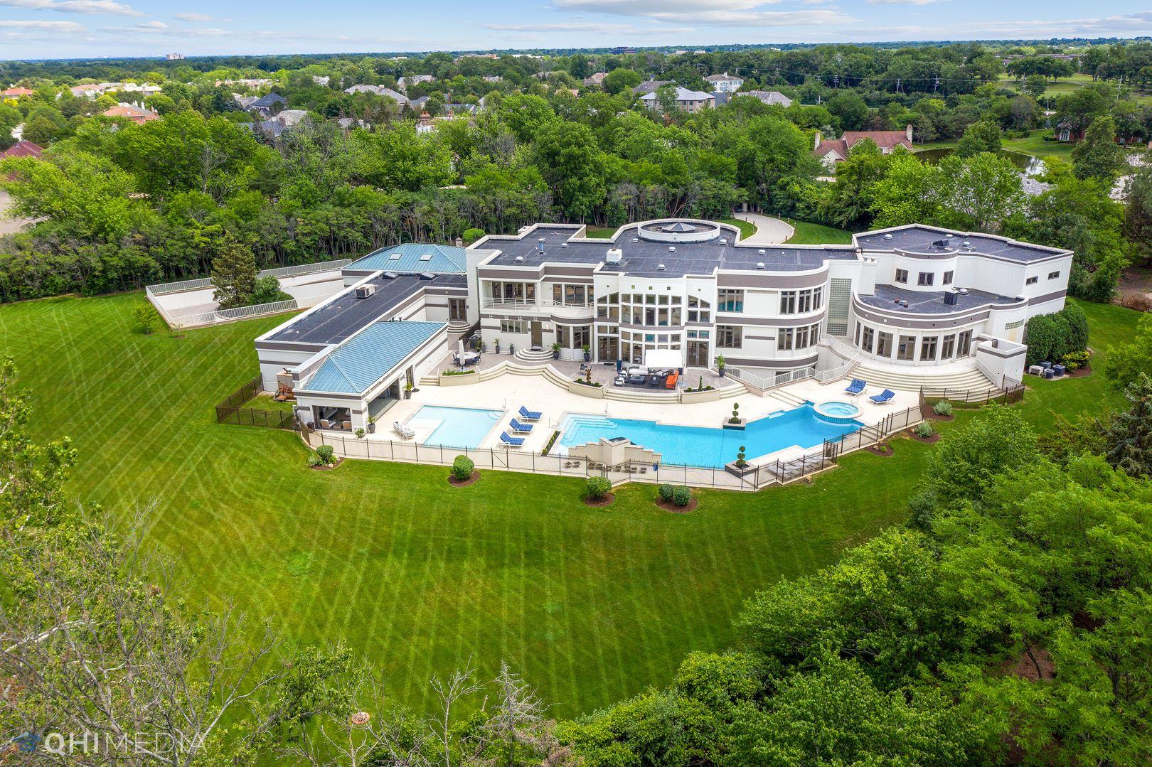 Oak Brook                                                                      , IL - $5,950,000