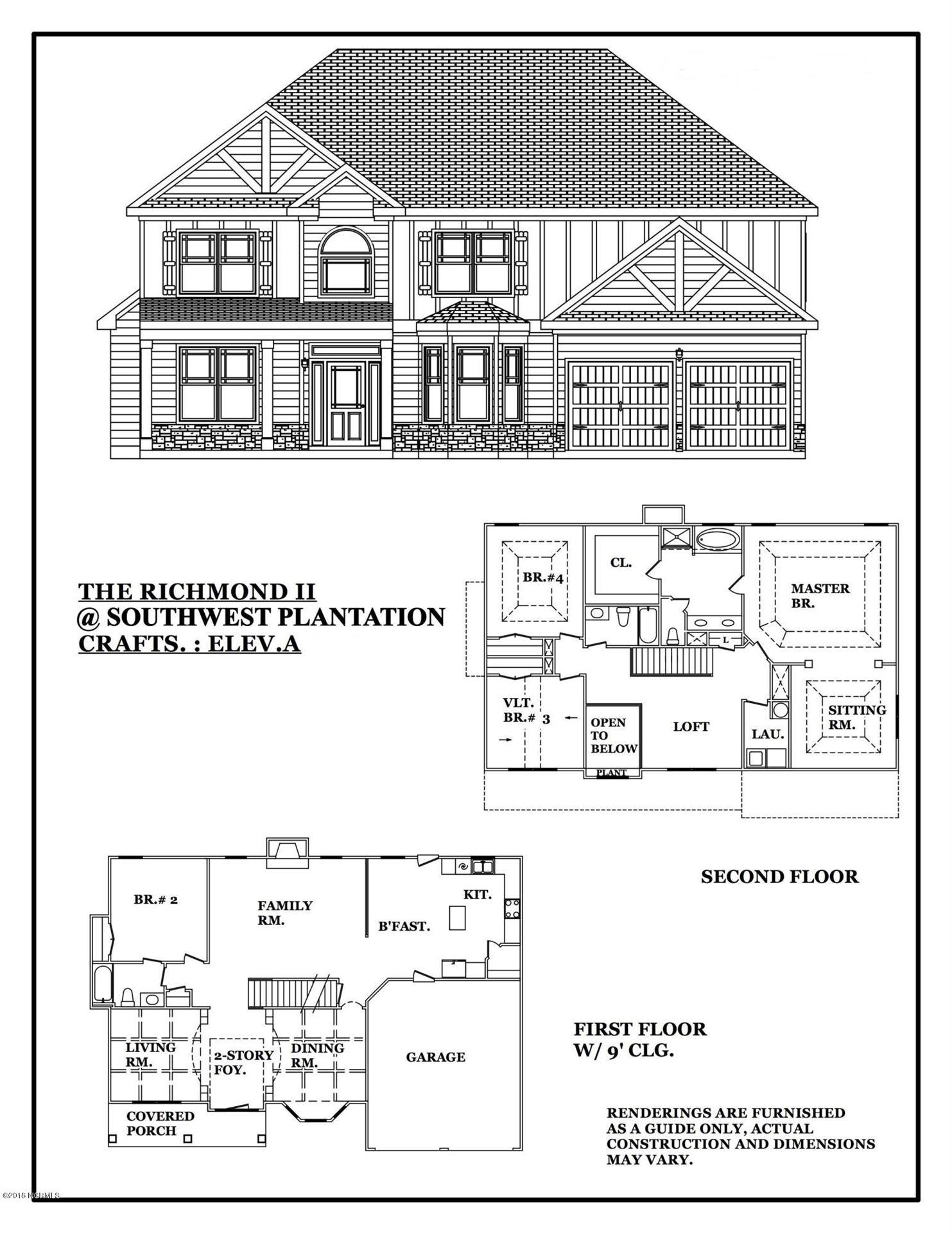 309 Southwest Plantation Drive, Jacksonville, NC Single ... on south west climate, south west contemporary style homes, south west home plans, south west architecture,