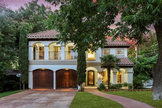Property Image Of 8718 Rexford Drive In Dallas, Tx