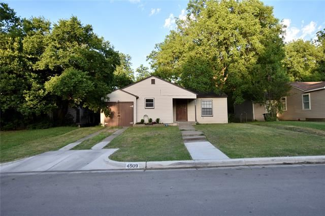 Property Image Of 4509 Harwen Terrace In Fort Worth, Tx