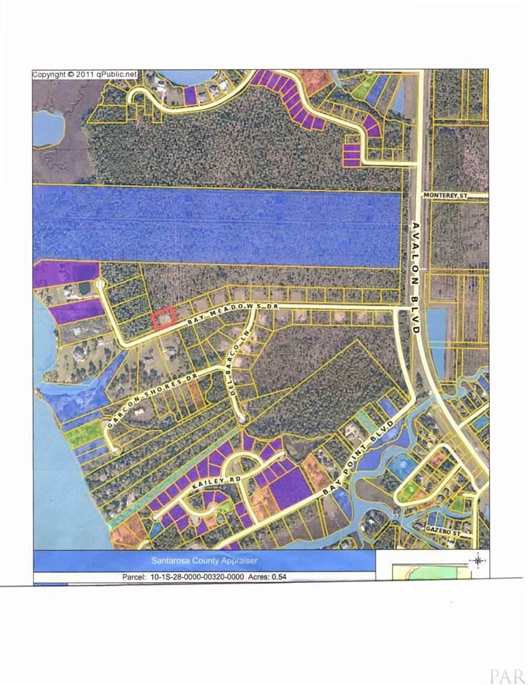 Property Image Of Lot 13 Block A Bay Meadow Dr In Milton, Fl