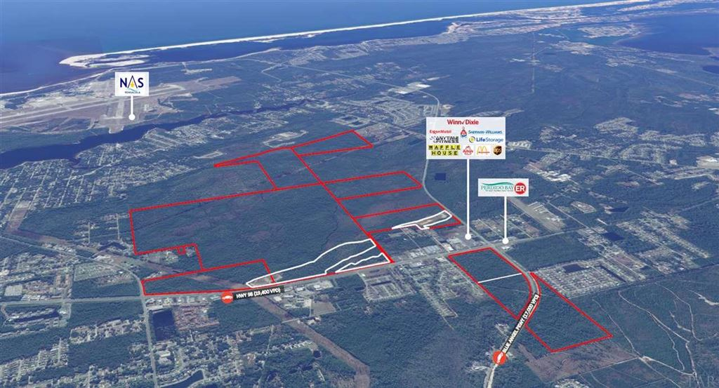 Property Image Of 0 Hwy 98 In Escambia, Fl