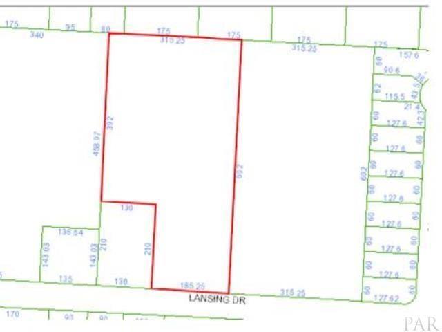 Property Image Of 1500 Lansing Dr In Pensacola, Fl