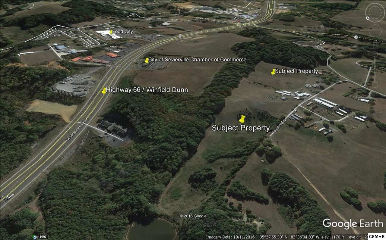 Property Image Of 3120 Fortenberry Drive P/O Parcel105.00 And All Of 105.02 In Kodak, Tn