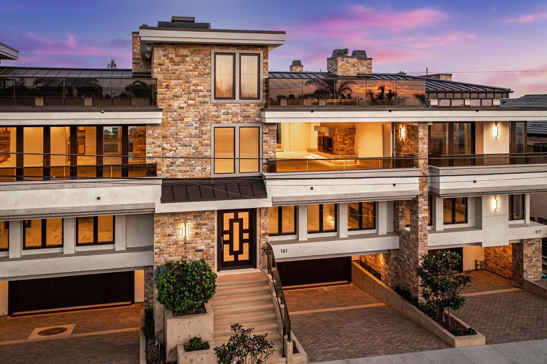 191 Cherry Ave                                                                               Carlsbad                                                                      , CA - $4,395,000