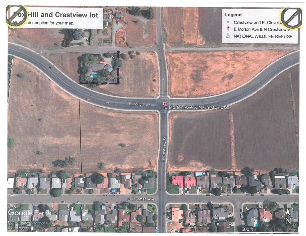 890 E Morton Street, Porterville, CA Lots and Land Property Listing