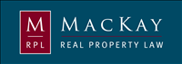 MacKay Real Property Law