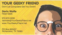 Your Geeky Friend