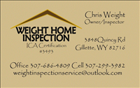Weight Home Inspections