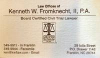 Law Offices of Kenneth W. Fromknecht, II, P.A.